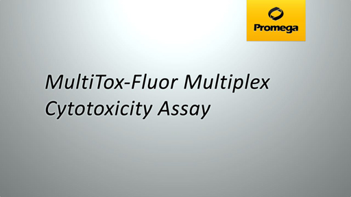 MultiToxFluor Multiplex Cytotoxicity Assay Animation